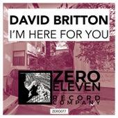 I'm Here For You de David Britton