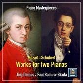 Mozart & Schubert: Works for 2 Pianos von Jörg Demus