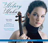 3-Pak (Hilary Hahn Plays Bach/Beethoven:Violin Concerto, Bernstein Serenade/Stravinsky, Brahms Violin Concertos) by Hilary Hahn