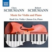 C. & R. Schumann: Music for Violin & Piano von Haoli Lin
