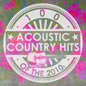 100 Acoustic Country Hits of the 2010s (Instrumental) de Guitar Tribute Players