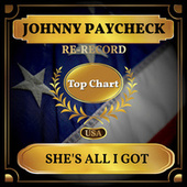 She's All I Got (Billboard Hot 100 - No 91) de Johnny Paycheck