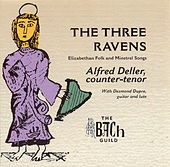 The Three Ravens by Alfred Deller