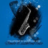 Collezione di sassofoni jazz (Sfondo di sassofono lento, Giorno del sassofono 2020) by Artisti Vari