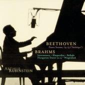 Rubinstein Collection, Vol. 10: Beethoven: Pathétique Sonata; Brahms: Intermezzos, Rhapsodies, etc. by Arthur Rubinstein