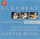 Schubert: Symphony No. 1 & 2 by Günter Wand