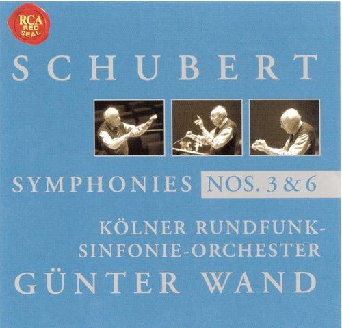 Schubert: Symphony No. 3 & 6 by Günter Wand