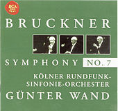 Bruckner: Symphony No. 7 by Günter Wand