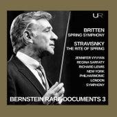 Bernstein conducts Stravinsky and Britten von Leonard Bernstein