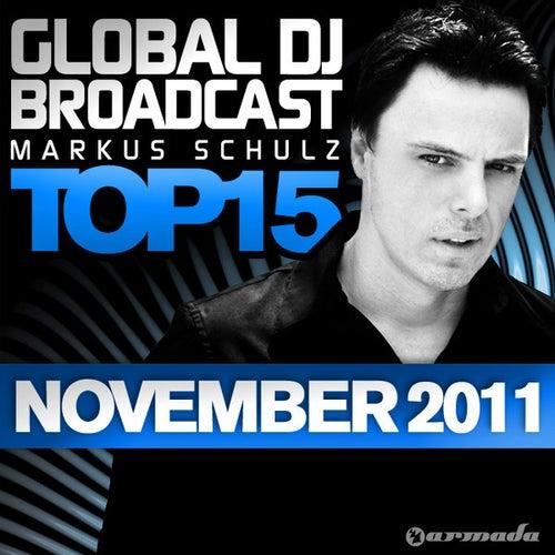 Global DJ Broadcast Top 15 - November 2011 by Various Artists