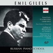 Tchaikovsky: Piano Sonata in C-Sharp Minor, Op. 80, TH 123 - Beethoven: Piano Concerto No. 2 in B-Flat Major, Op. 19 by Emil Gilels