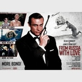 From Russia With Love (Sean Connery James Bond 007 e Daniela Bianchi Original Soundtrack 1963) von John Barry