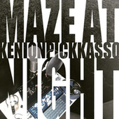Maze at Night by KenIon pIckkasso