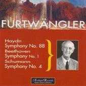 Haydn: Symphony No. 88 - Beethoven: Symphony No. 1 - Schumann: Symphony No. 4 by Wilhelm Furtwängler