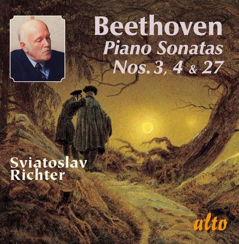 BEETHOVEN: Piano Sonatas Nos. 3, 4, & 27 by Sviatoslav Richter