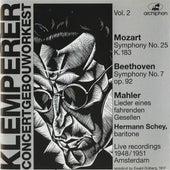 Otto Klemperper: Concertgebouworkest, Vol. 2 by Various Artists