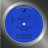 Hans Knappertsbusch: Early Recordings 1928-1941 von Hans Knappertsbusch