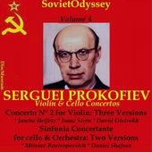 Prokofiev: Violin Concerto No. 2 & Sinfonia Concertante (Vol. 4) von Various Artists