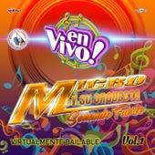 Virtualmente Bailable Vol. 1. Música de Guatemala para los Latinos (En Vivo) de Micro y su Orquesta