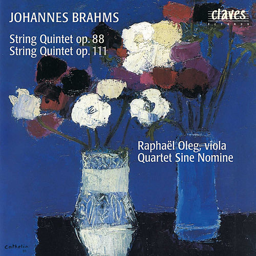 Brahms : String Quintets Op. 88 & Op. 111 by Quartet Sine Nomine