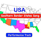 USA Southern Border States Song  (Performance Track) by Kathy Troxel