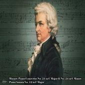 Mozart- Piano Concertos No. 21 in C Major & No. 24 in C Minor; Piano Sonata No. 12 in F Major de Cleveland Orchestra
