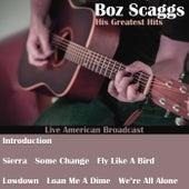 His Greatest Hits (Live) de Boz Scaggs