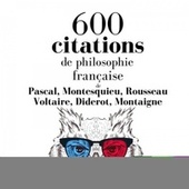 600 citations de philosophie française (Les citations les plus inspirantes) von Pascal