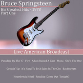 His Greatest Hits - 1978 - Part One (Live) von Bruce Springsteen