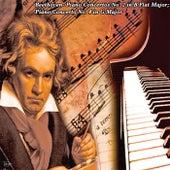 Beethoven- Piano Concertos No. 2in B Flat Major; Piano Concerto No. 4 in G Major von Leon Fleisher