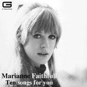 Ten Songs for you de Marianne Faithfull