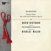 Taneyev: Concert Suite for Violin and Orchestra, Op. 28 by David Oistrakh