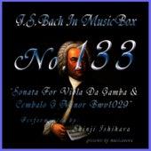 Bach In Musical Box 133 / Sonata For Viola Da Gamba And Cembalo G Minor Bwv1029 de Shinji Ishihara