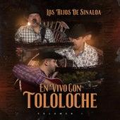 En Vivo Con Tololoche, Vol. 1 de Los Hijos de Sinaloa