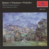 Brahms, Schumann & Prokofiev de Various Artists