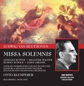 Beethoven: Missa solemnis, Op. 123 von Annelies Kupper
