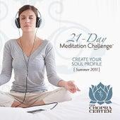 Summer 2011 Meditation Challenge: Create Your Soul Profile (4-CD set) by Chopra Center