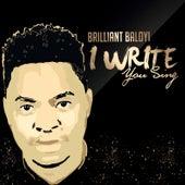 I Write You Sing (Live) by Brilliant Baloyi