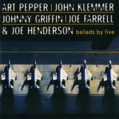 Ballads By Five by Art Pepper