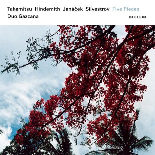Takemitsu, Hindemith, Janácek, Silvestrov: Five Pieces by Duo Gazzana