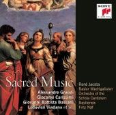 Italian Sacred Music de René Jacobs