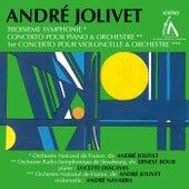 Jolivet: Symphony No. 3 - Piano Concerto - Cello Concerto No. 1 by Various Artists