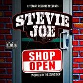 Shop Open by Stevie Joe
