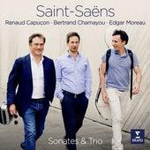 Saint-Saëns: Violin Sonata No. 1, Cello Sonata No. 1 & Piano Trio No. 2 by Renaud Capuçon