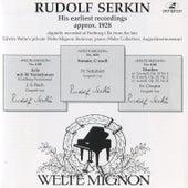 Rudolf Serkin: His earliest recordings von Rudolf Serkin