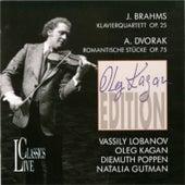 Brahms: Klavierquartett, Op. 25 - Dvorak: Romantische Stucke, Op. 75 (Edition Oleg Kagan, Vol. 4) by Various Artists