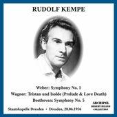 Weber, Wagner & Beethoven: Orchestral Works (Live) de Rudolf Kempe