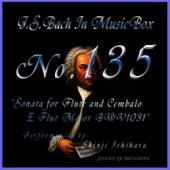 Bach In Musical Box 135 / Sonata For Flute And Cembalo E Flut Major Bwv1031 by Shinji Ishihara