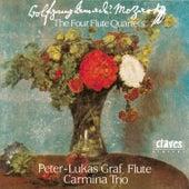 W. A. Mozart : The Four Flute Quartets by Peter-Lukas Graf