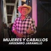 Mujeres y Caballos by Argemiro Jaramillo